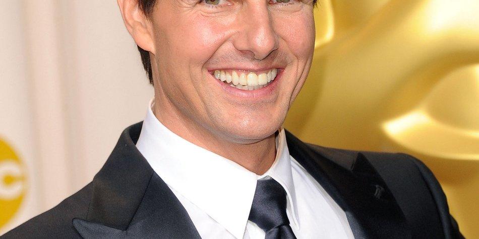Tom Cruise feiert Geburtstag am Filmset