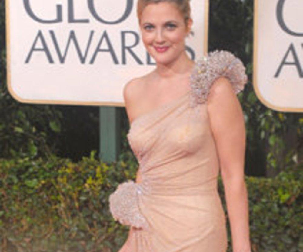 Abendkleider: Golden Globes 2010