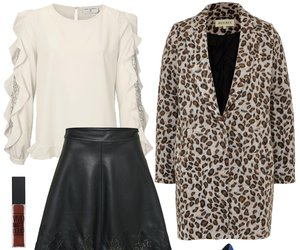 Outfit des Tages: Schick im Leo-Look