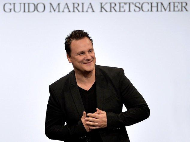 Guido Maria Kretschmer nach einer Modenschau