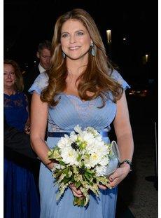 Prinzessin Madeleine sieht glücklich aus