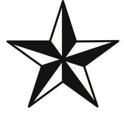 Nautischer Stern Tattoo