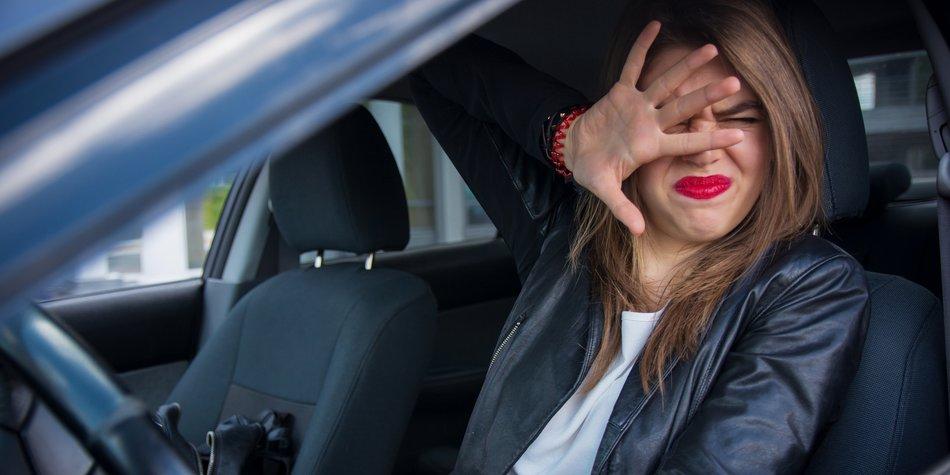 Angst vorm Auto fahren