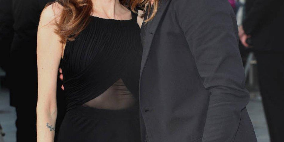 Angelina Jolie und Brad Pitt bespitzelt!
