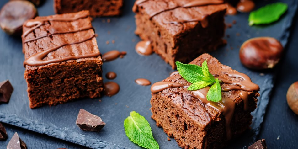 Brownies backen