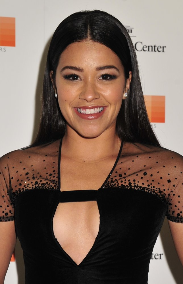 WASHINGTON, DC - DECEMBER 06: Actress Gina Rodriguez arrives at the 38th Annual Kennedy Center Honors Gala at the Kennedy Center for the Performing Arts on December 6, 2015 in Washington, DC.  (Kris Connor/Getty Images)