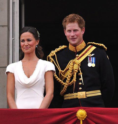 Pippa Middleton und Prinz Harry.