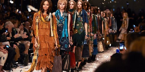 Peace, Love and Happiness: Hippie-Feeling bei Burberry Prorsum