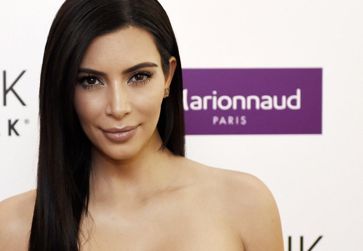 Draping bei Kim Kardashian