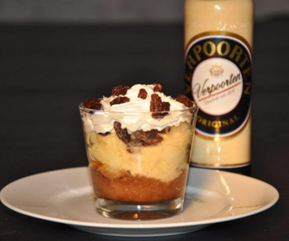 VERPOORTEN ORIGINAL Eierlikör Apfel-Rosinen Dessert