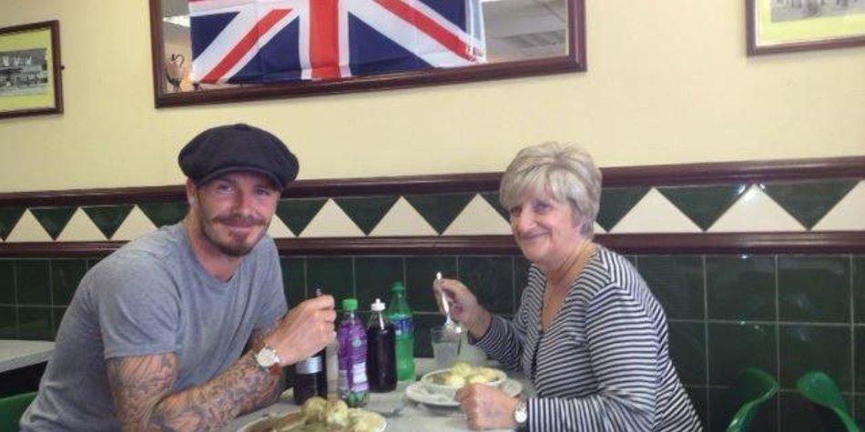 David Beckham macht Überraschungsbesuche