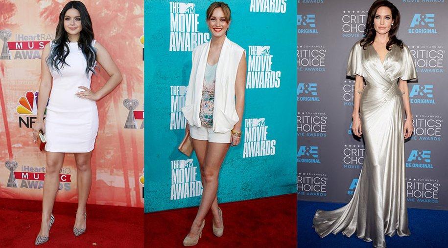 Leighton Meester, Ariel Winter, Angelina Jolie