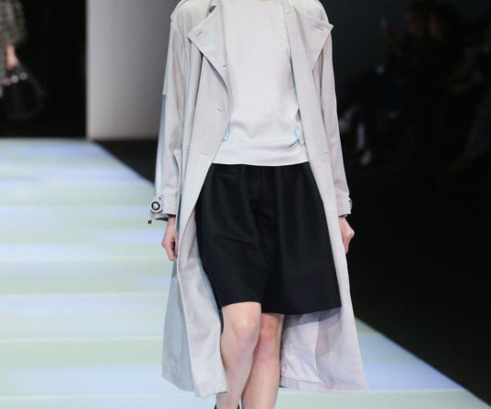 Emporio Armani bei der Mailand Fashion Week Fall/Winter 2014/15