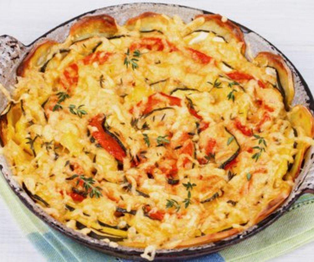 Kartoffel Zucchini Auflauf