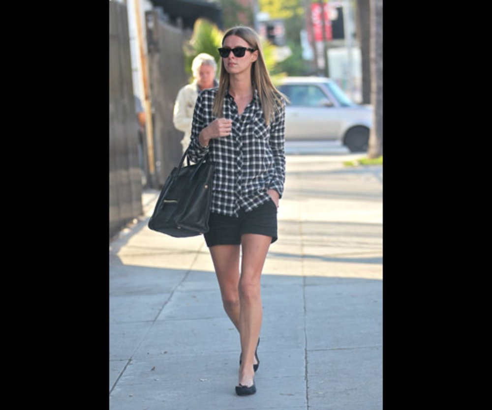 Nicki Hilton unterwegs