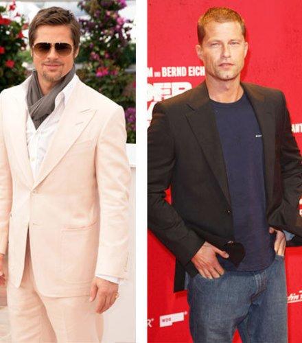 Brad Pitt und Til Schweiger spielen in Inglorious Basterds