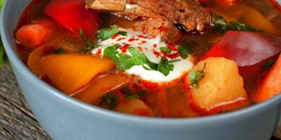 Gyros Suppe