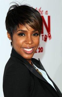 Kelly Rowland mit sexy Short Cut