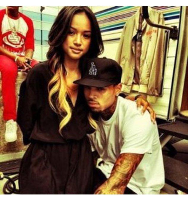Chris Brown ist verknallt