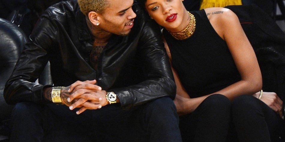 Rihanna flüchtet vor Karrueche Tran!