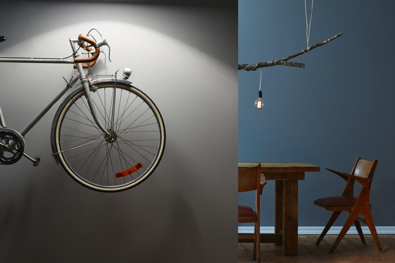 Wohnideen Flur Fahrrad