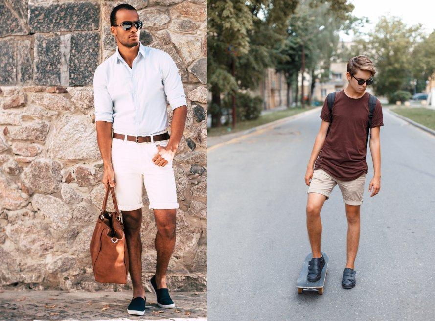 Männer stilvoll Shorts