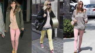 Jeans in Pastelltönen: Candy Colors