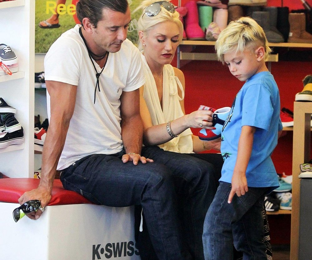 Gwen Stefani auf Shoppingtour