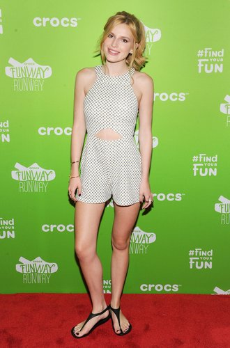 Bella Thorne auf dem Crocs Funway Event in New York