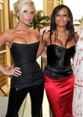 Zickenkrieg zwischen Victoria Beckham und Mel B. ist erfunden