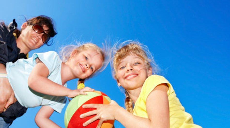 Kinder treiben gerne Sport