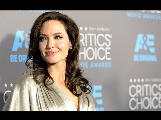 Critics' Choice Awards 2015 Angelina Jolie
