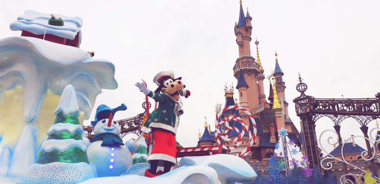 Disneyland Weihnachtsparade