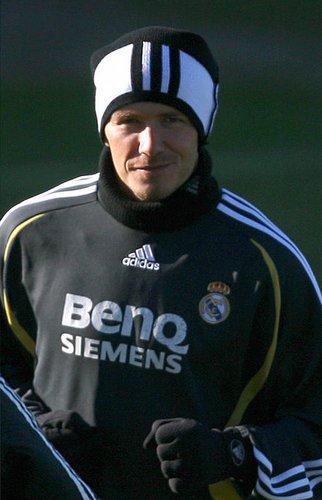 David Beckham im Januar 2007