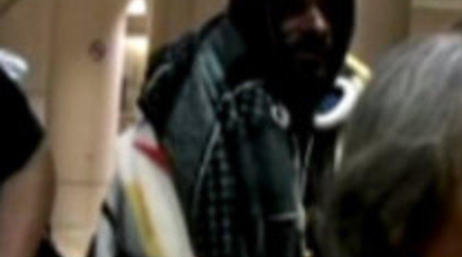 Snoop Dog am Flughafen von LA