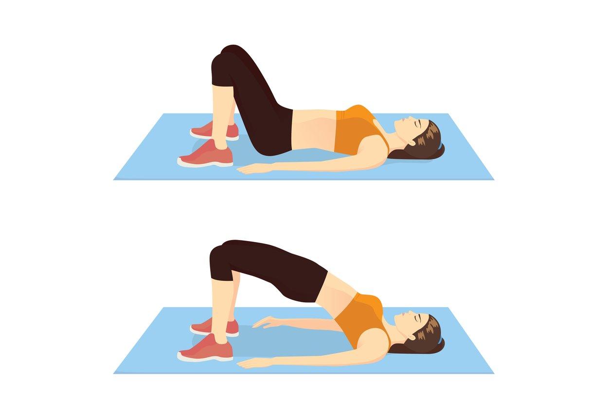Beckenboden trainieren Übungen