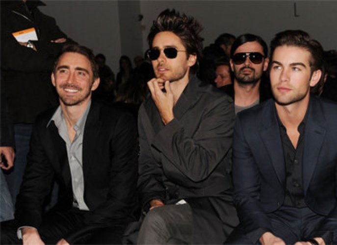 Chace Crawford, Jared Leto und Lee Pace