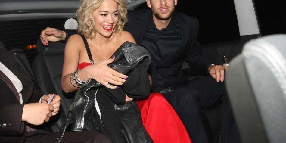 Rita Ora: Wie lang wird die Beziehung zu Calvin Harris noch halten?