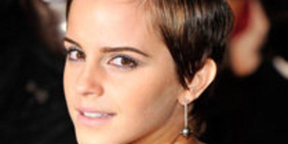 Emma Watson: Pixie-Cut ist ein Schock