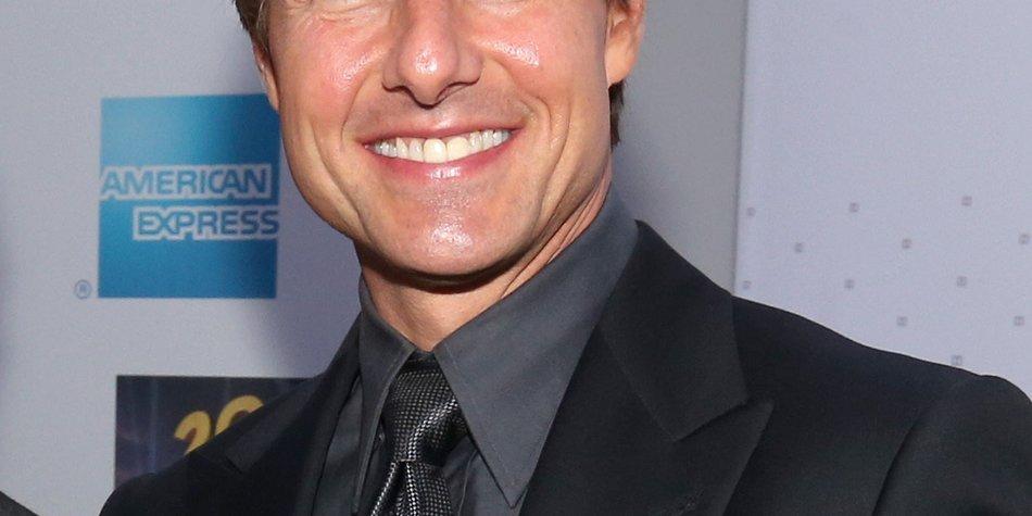Tom Cruise ist für Suri da