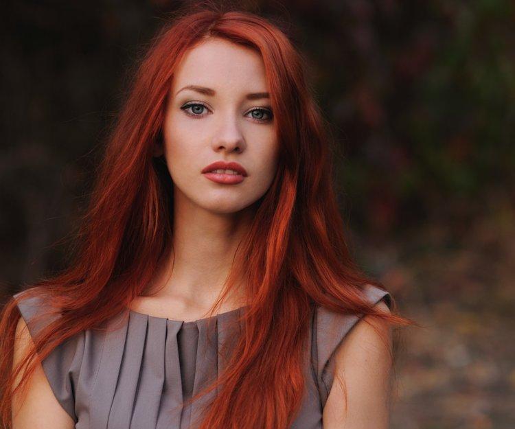 Haare rot färben dunkle Dinge, die