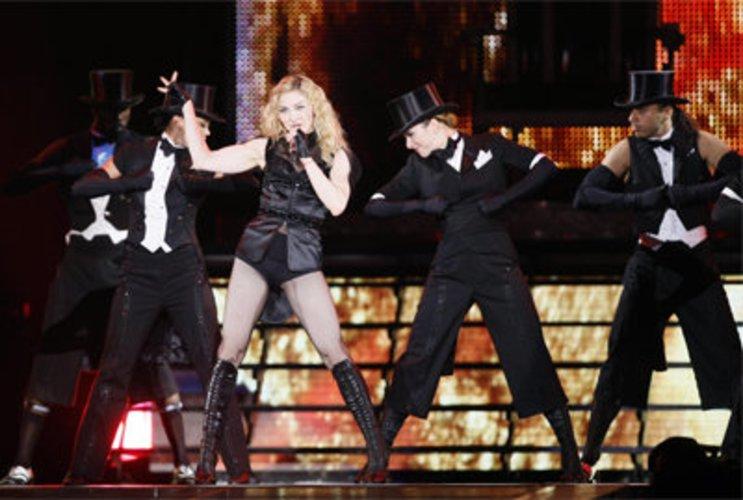 Madonna ist immer in den Charts.