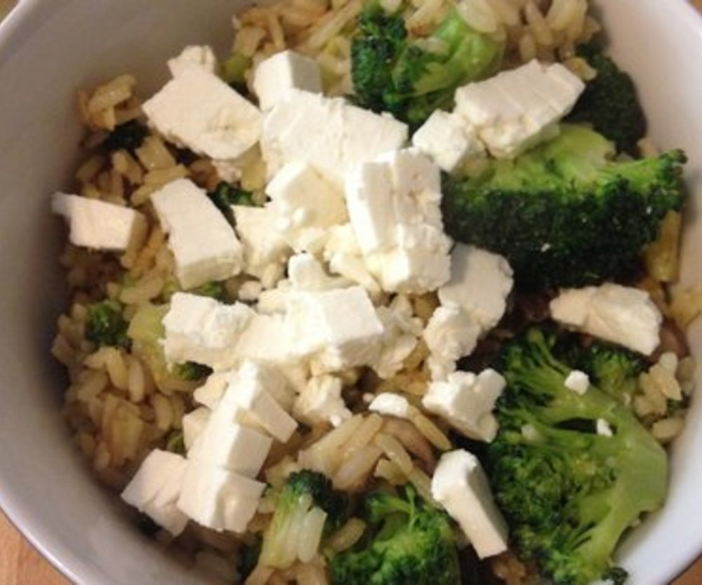 Reispfanne mit Fleisch