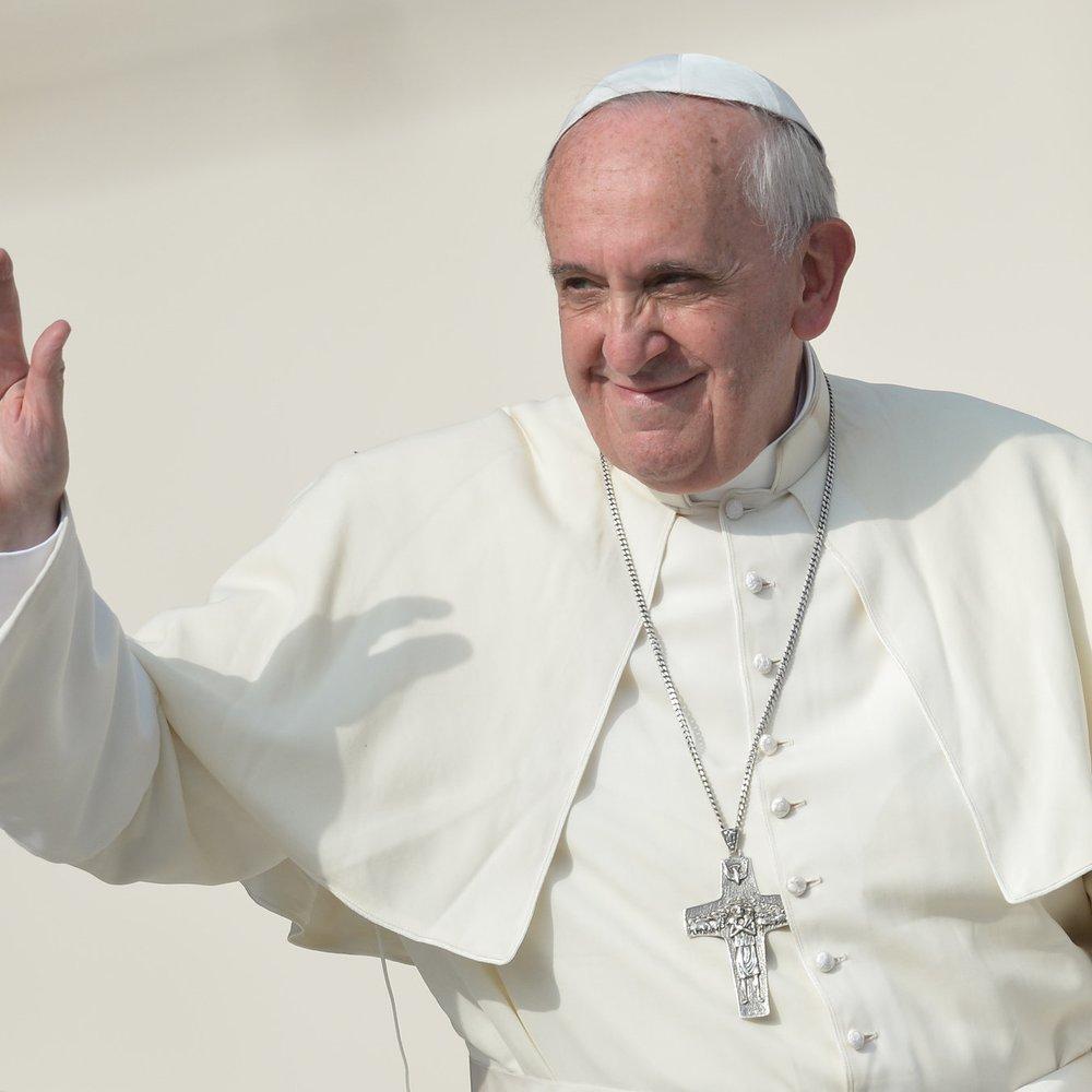 Papst Franziskus ist die Person des Jahres