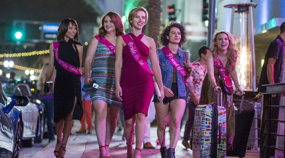 Zum Kinostart von Girls' Night Out verlosen wir zwei Party-Kits!