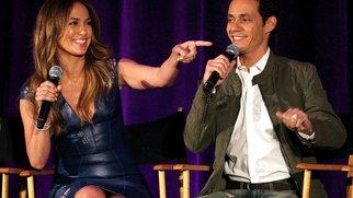 Jennifer Lopez und Marc Anthony als Kollegen