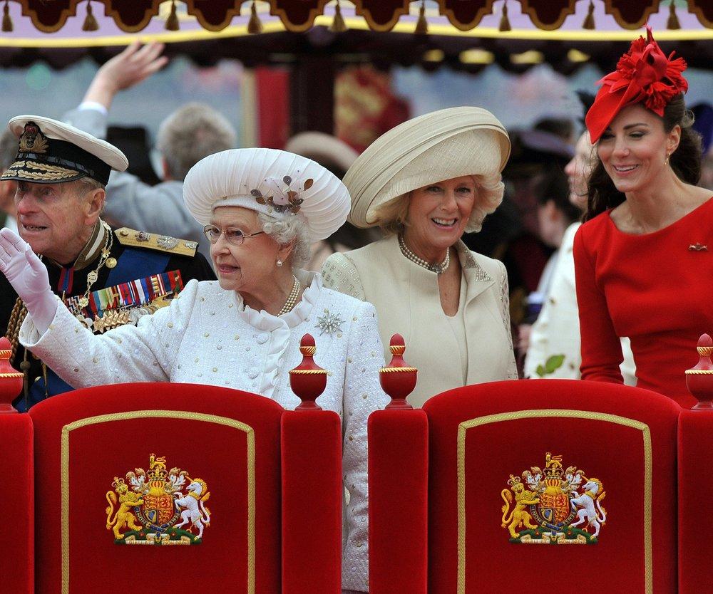 Kate Middleton feiert die Queen