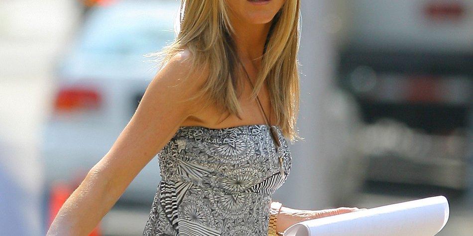 Jennifer Aniston: Drei Ex-Freunde an einem Tag!