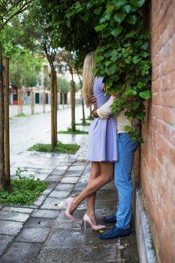 Heimlich küssen