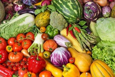 Vegan abnehmen Gemüse